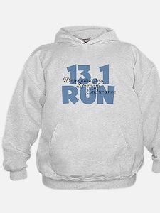 13.1 Run Blue Hoodie