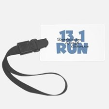 13.1 Run Blue Luggage Tag