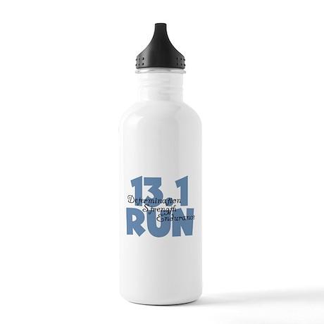 13.1 Run Blue Stainless Water Bottle 1.0L