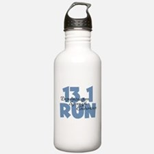 13.1 Run Blue Water Bottle
