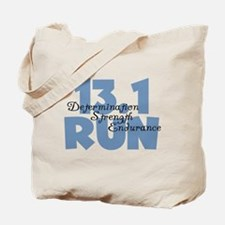 13.1 Run Blue Tote Bag
