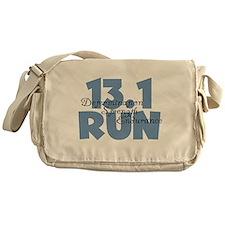 13.1 Run Blue Messenger Bag