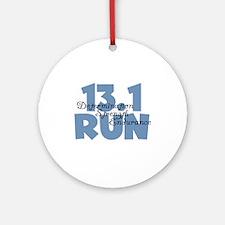 13.1 Run Blue Ornament (Round)