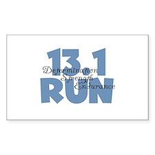 13.1 Run Blue Decal