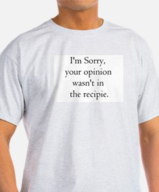 Cooking Humor T-Shirt