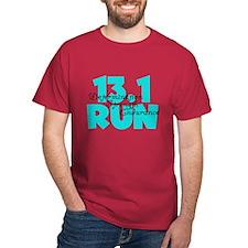 13.1 Run Aqua T-Shirt