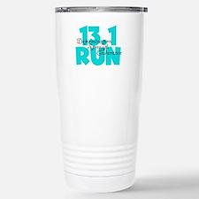 13.1 Run Aqua Travel Mug