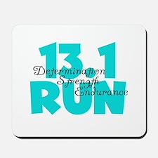 13.1 Run Aqua Mousepad