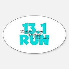 13.1 Run Aqua Decal