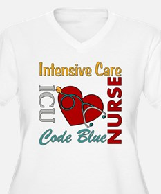 ICU Nurse Plus Size T-Shirt