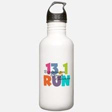 13.1 Run Multi-Colors Water Bottle