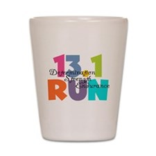 13.1 Run Multi-Colors Shot Glass