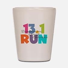 13.1 Run Multi-Colors Shot Glass