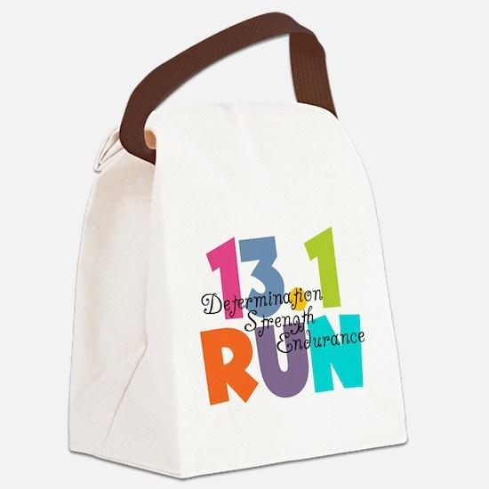 13.1 Run Multi-Colors Canvas Lunch Bag