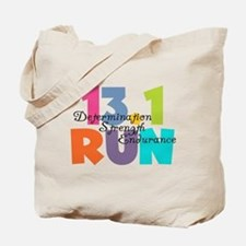 13.1 Run Multi-Colors Tote Bag