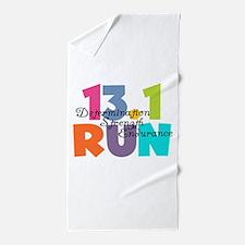 13.1 Run Multi-Colors Beach Towel
