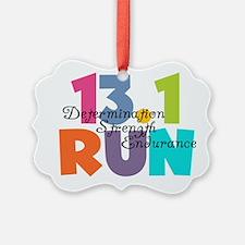 13.1 Run Multi-Colors Ornament