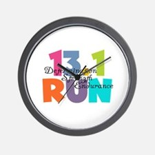 13.1 Run Multi-Colors Wall Clock