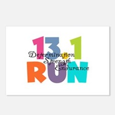 13.1 Run Multi-Colors Postcards (Package of 8)