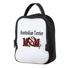 Australian Terrier Mom Neoprene Lunch Bag