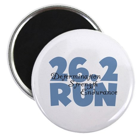 "26.2 Run Blue 2.25"" Magnet (100 pack)"