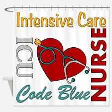 ICU Nurse Shower Curtain