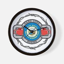 South Dakota Boxing Wall Clock