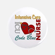 "ICU Nurse 3.5"" Button"