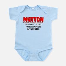 """""""IT'S NOT JUST FOR DINNER"""" Infant Bodysuit"""
