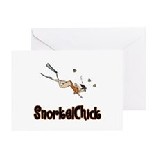 SnorkelChick Logo Greeting Cards (Pk of 10)