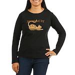 Powered By Cats Women's Long Sleeve Dark T-Shirt