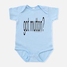 """GOT MUTTON?"" Infant Bodysuit"