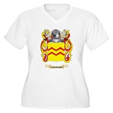 Harkin Coat of Arms (Family Crest) Plus Size T-Shi