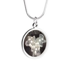 Illuminate Your Ideas Silver Round Necklace