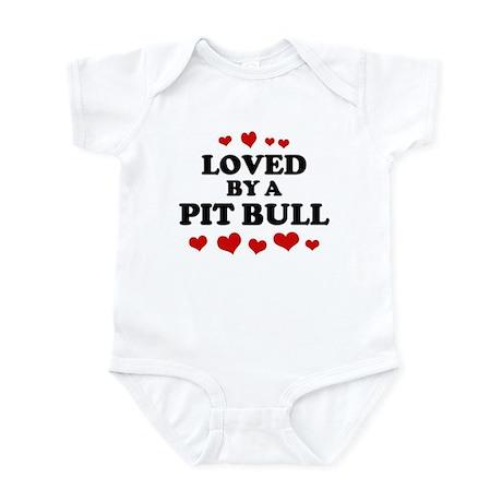 Loved: Pit Bull Infant Bodysuit