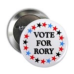 Vote For Rory Button