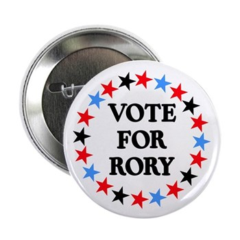 """Vote For Rory 2.25"""" Button (100 pack)"""