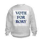 Vote For Rory Kids Sweatshirt