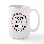 Vote For Rory Large Mug