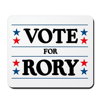 Vote For Rory Mousepad