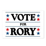 Vote For Rory Postcards (Package of 8)