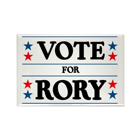 Vote For Rory Rectangle Magnet