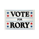 Vote For Rory Rectangle Magnet (10 pack)