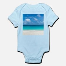 Tropical Beach View Cap Juluca Anguilla Body Suit