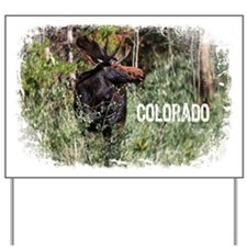 Colorado Moose II Yard Sign