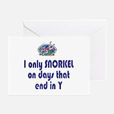SnorkelChick Days Greeting Cards (Pk of 10)