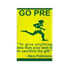 "GO PRE ""The Gift"" Rectangle Magnet"