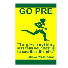 """GO PRE """"The Gift"""" Postcards (Package of 8)"""
