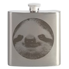 Circle sloth Flask
