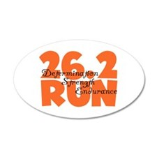 26.2 Run Orange Wall Sticker